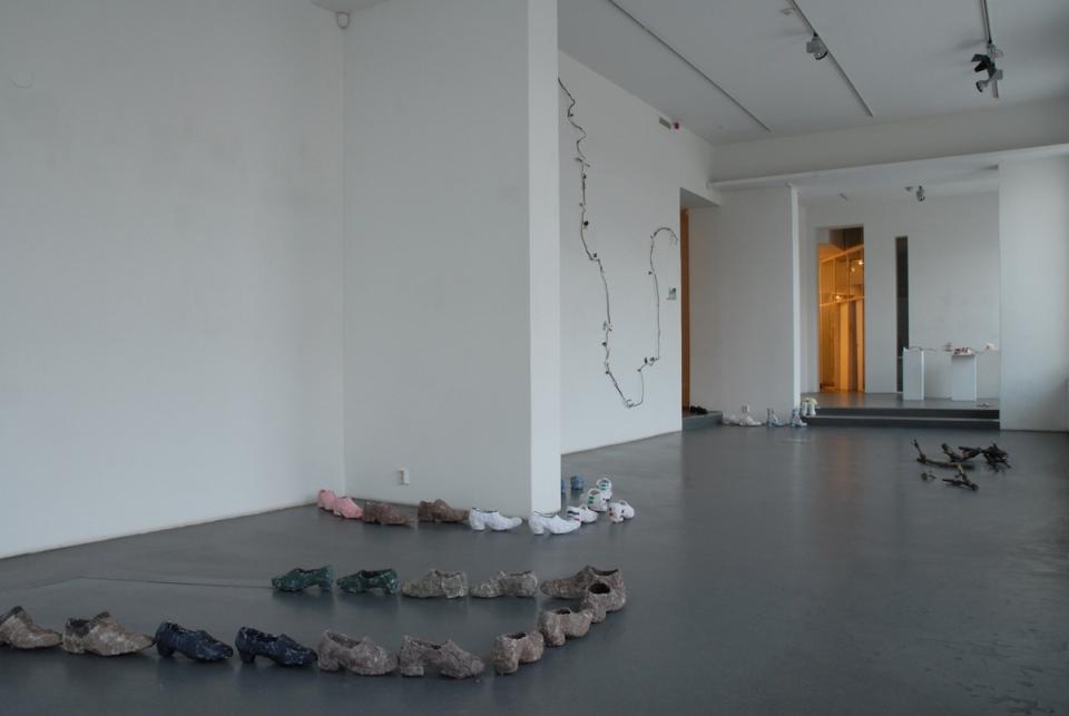 Parking lots, 2010, Gallery Sculptor, 2010, photo by Marja Söderlund