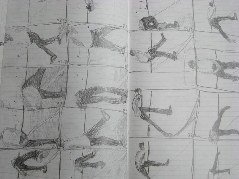 Drawings Of Bruce Nauman S Video Niran Baibulat